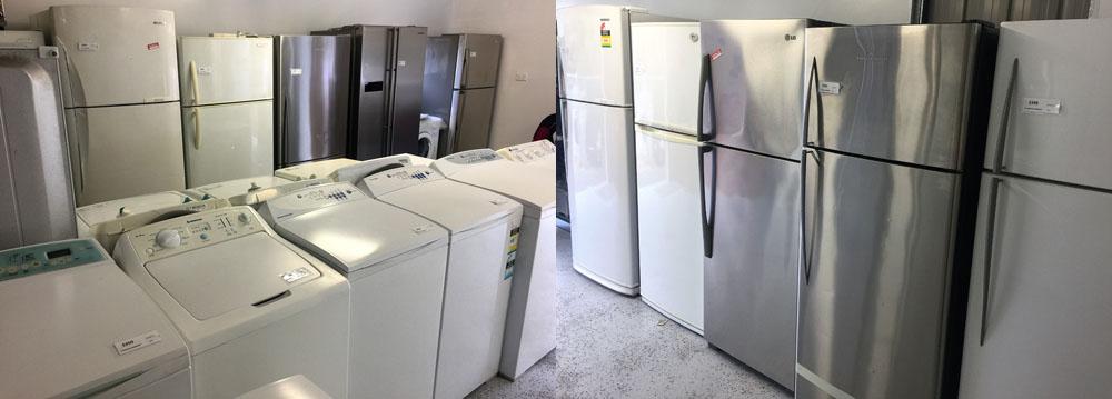 Marks Fridge & Washing Machine Service second hand sales and